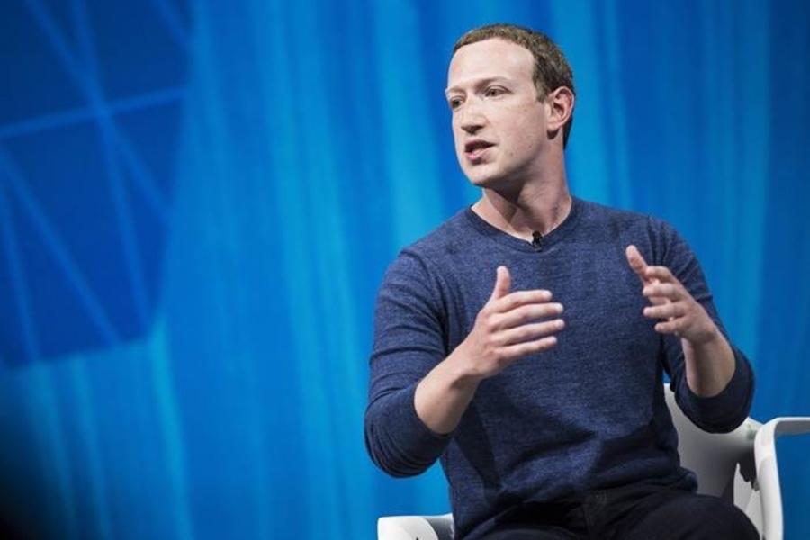 Facebook's CEO Mark Zuckerberg at VivaTech  - Paris