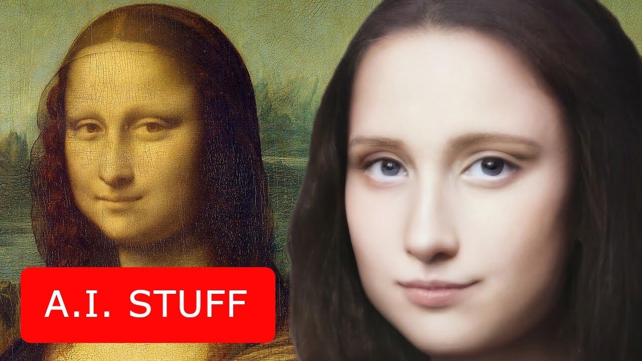 Се случи уметничко чудо, оживеаја Мона Лиза и Девојката со бисерна обетка (ВИДЕО)