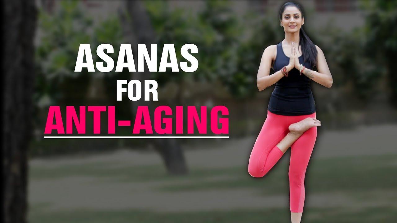 Јога против стареење: 8 минути вежби за подмладување на кожата (ВИДЕО)