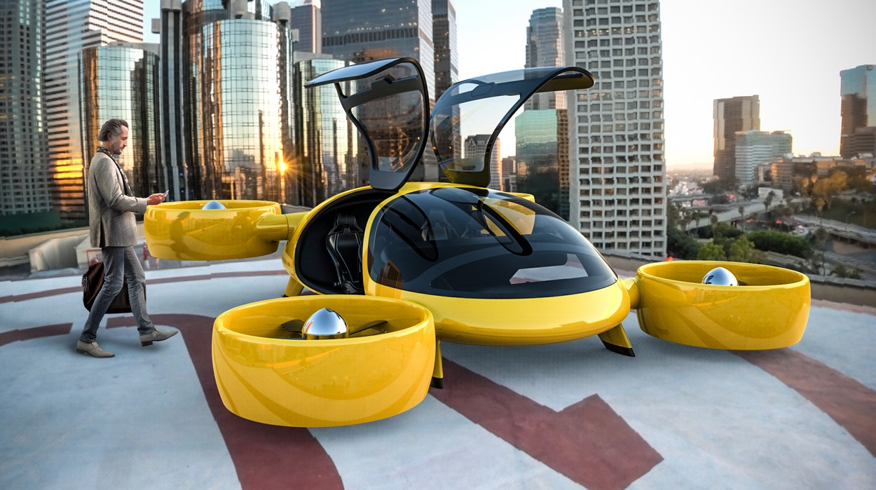 The flying taxi due to take to the skies within two years