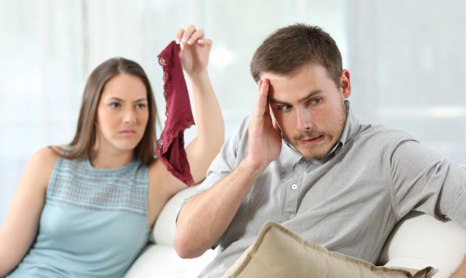 Disloyal cheater boyfriend caught by girlfriend