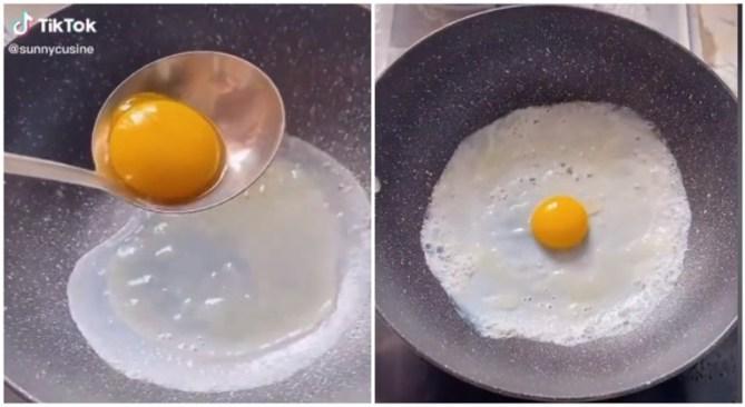 трик со јајце