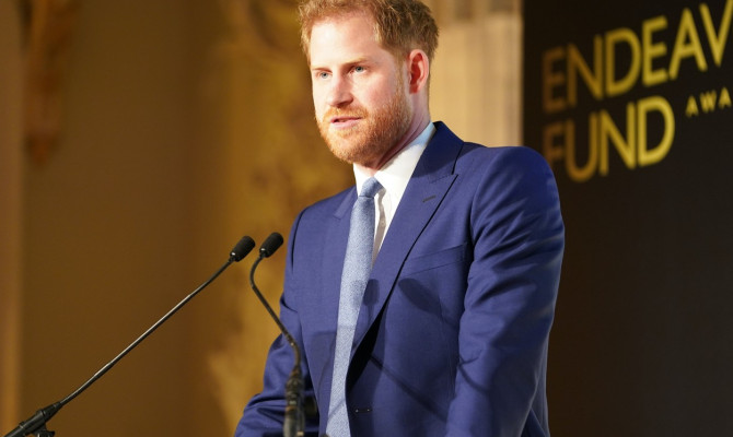 Harry and Meghan attend the Endeavour Fund Awards