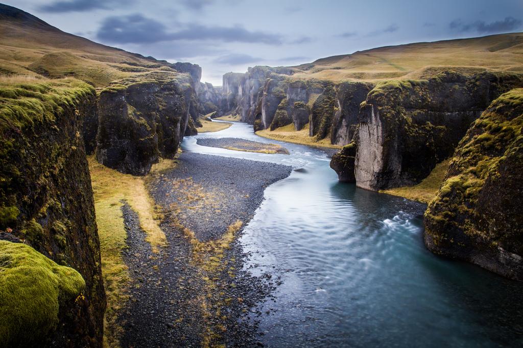 fjarargljufur-canyon