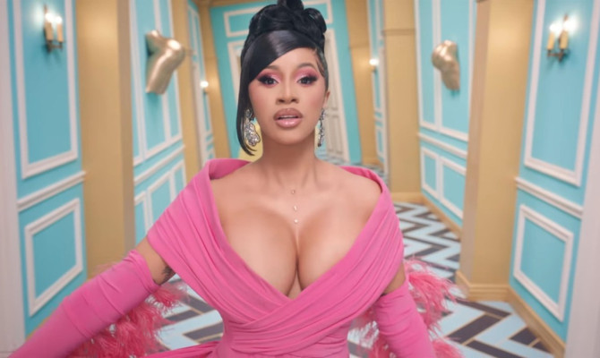 Cardi B and Megan Thee Stallion release super raunchy music video for their new single WAP