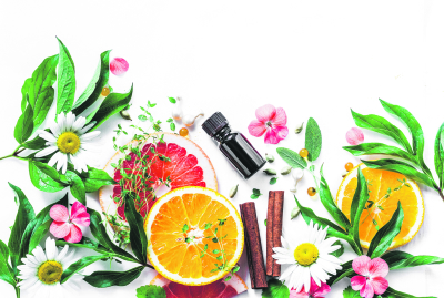stock-photo-essential-oil-for-beauty-skin-flat-lay-beauty-ingredients-on-a-light-background-top-view-beauty-1111800173_400x0