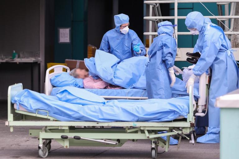 Jedan dan u KB Dubrava - bolnici prenamijenjenoj u COVID centar