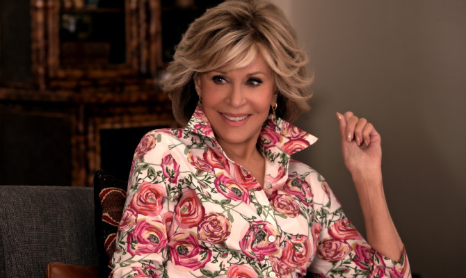 "Stills from the TV series ""Grace and Frankie"""