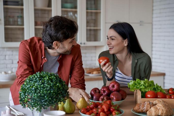 birajte hrana po boja