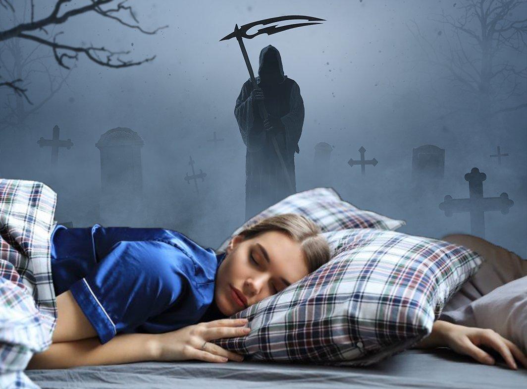 Demon-na-groblju-spavanje