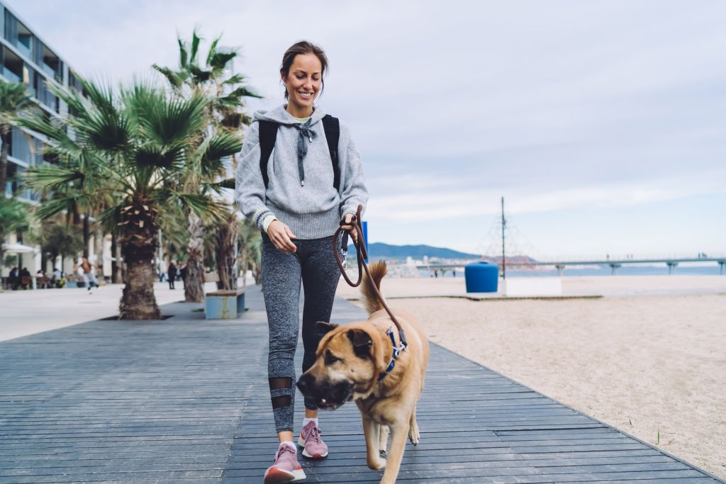 Happy,Caucasian,Female,Jogger,In,Sportive,Tracksuit,Enjoying,Morning,Time