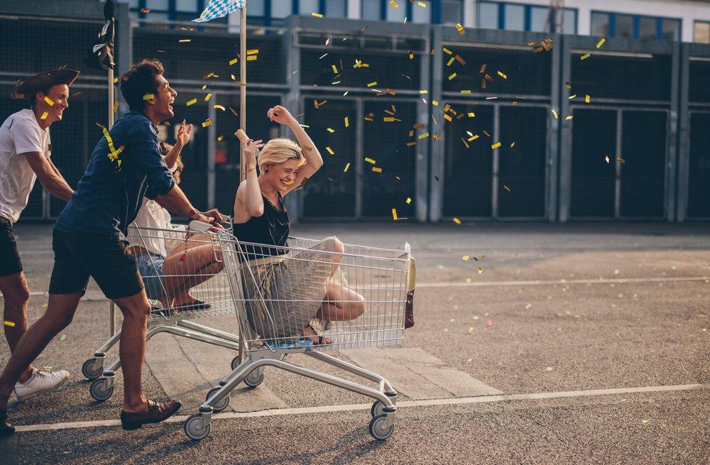 Supermarket-voznja