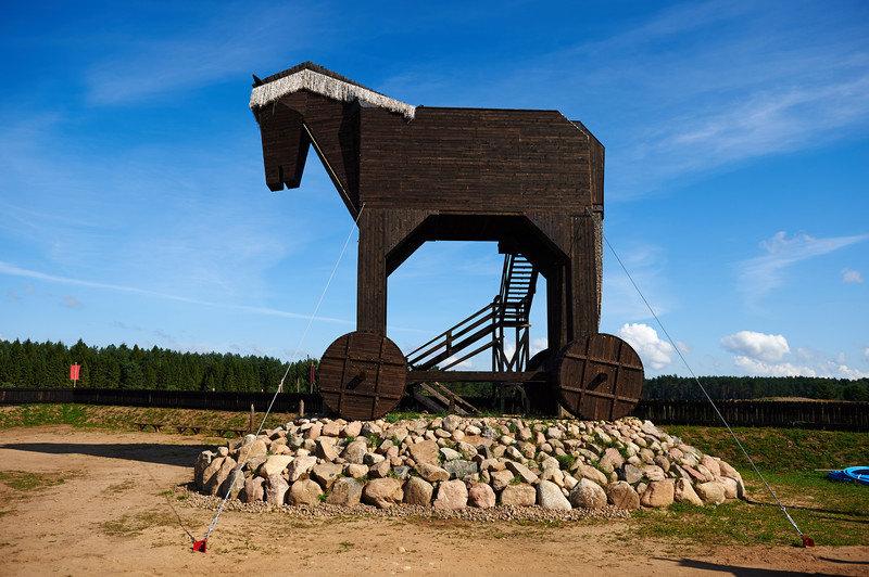 Giant Trojan Horse